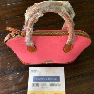 Brand new Dooney and Bourke zip zip satchel